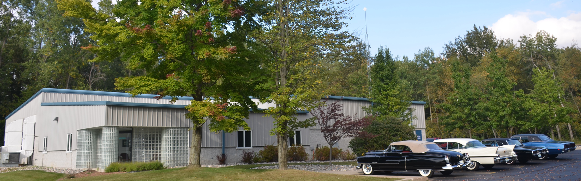 Front view of Precision Tork headquarters