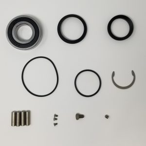 Parts included in bearing kit.