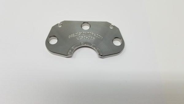 An anti-rotation knife