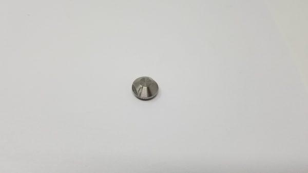Filling valve nozzle tip